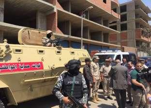 مدير أمن القليوبية يتفقد قوات حماية المواطنين في ذكرى 30 يونيو
