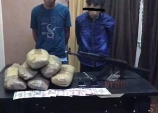 ضبط تشكيل عصابي يتاجر في المخدرات بالدقهلية بحوزته 11 كيلو بانجو