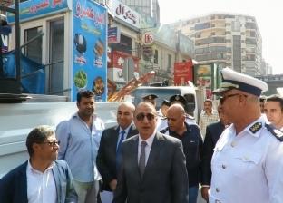 ضبط 36 متهما و4 آلاف مخالفة مرورية في الجيزة