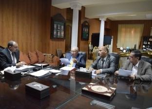 رئيس جامعة بني سويف يوجخ بتحسين الخدمات باستراحة أعضاء هيئة التدريس