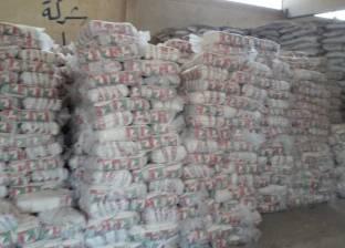 ضبط 6 أطنان سكر و8 آلاف زجاجة زيت قبل بيعهم بالسوق السوداء في الشرقية