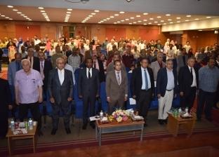 نائب محافظ أسيوط وزياد بهاء الدين يشهدان افتتاح مهرجان الصعيد المسرحي