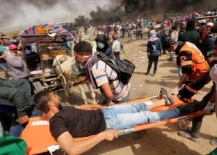 إصابة 8 فلسطينيين خلال مواجهات مع جيش الاحتلال قرب رام الله
