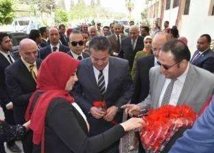 وزير التعليم العالي يشارك في احتفالات جامعة مدينة السادات بعيدها الـ5
