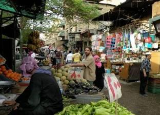 """إخلاء 7 شوارع من الباعة الجائلين في """"سوق الأحد"""" بمدينة بلقاس"""