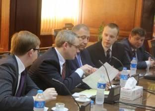 وزير الموارد الطبيعية بدولة بيلاروسيا يختتم زيارته للقاهرة