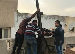 حملة لإيقاف بناء العقارات المخالفة في شرق الإسكندرية