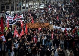 عاجل| فرنسا تغلق 40 محطة مترو أنفاق قبل مظاهرات اليوم
