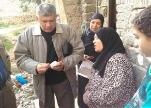 """""""تضامن الإسكندرية"""" تصرف مساعدات فورية لمتضرري قرية قشوع بالعامرية"""