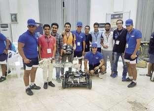 طلاب «هندسة المنصورة» يبتكرون «روبوت» يحمل ألغاماً ويقوم بعمليات خطرة