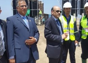 """افتتاح المرحلة الأولى من مشروع """"معادن الرمال السوداء"""" في منطقة رشيد"""