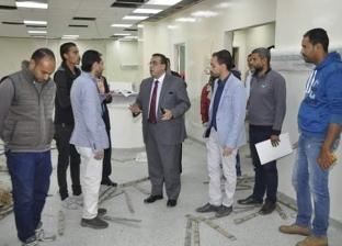 رئيس جامعة قناة السويس: افتتاح وحدة العناية المركزة الجديدة قريبا