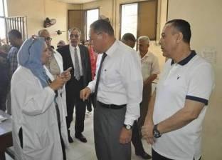 رئيس جامعة القناة: لا بديل عن تحقيق خدمة طبية متميزة بالمستشفى الجامعي