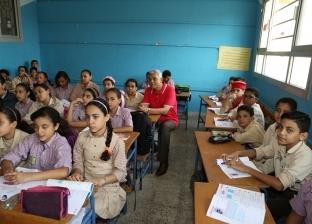 بالصور| محافظ المنوفية يتفقد مدرسة الشهيد عبدالرحمن الديب بشبين الكوم