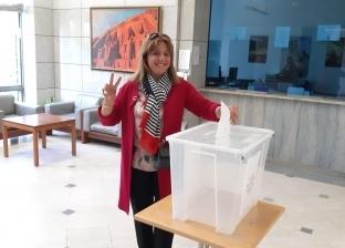 استمرار توافد المصريين بالقطاع الفرنسي من سويسرا للتصويت في الاستفتاء