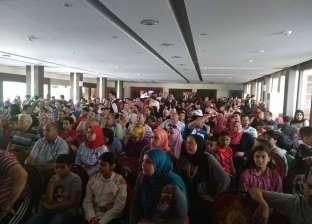 بالصور| أهالي الشرقية يحتشدون بالمقاهي والساحات لمتابعة مصر وأوروجواي
