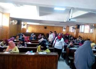 """440 طالبا أنهوا اختبارات القدرات بـ""""تربية نوعية"""" جامعة المنصورة"""