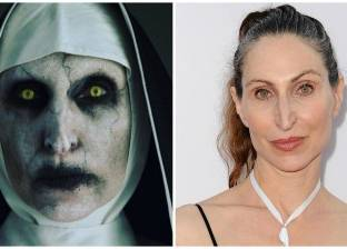 """بالفيديو  """"الراهبة المرعبة"""" في فيلم The Nun.. واجهت مشكلات بسبب أنفها"""