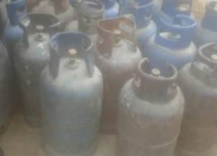 مخالفة لبائع جمع 10 أسطوانات بوتاجاز منزلية مُدعمة بالبحيرة
