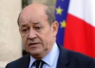 وزير خارجية فرنسا في بغداد لبحث إعادة الإعمار