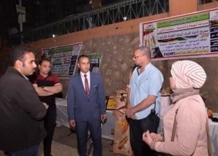 """نائب محافظ أسيوط يشهد فعاليات ثقافية ومعارض تراثية بـ""""ممشى أهل مصر"""""""