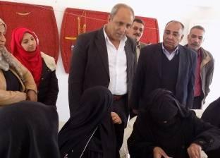 جهاز تعمير سيناء ينشئ مشغلا بوادي الطور للسيدات البدويات