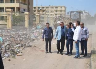 رفع 10 أطنان قمامة في اليوم الثاني لحملة حي ثان بالإسماعيلية