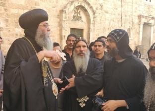 الاحتلال الإسرائيلى يواصل انتهاك حقوق الكنيسة فى «دير السلطان» المصرى بالقدس