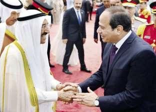 """""""السيسى"""": أمن الكويت ودول الخليج جزء لا يتجزّأ من الأمن القومى المصرى"""
