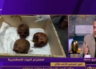 مصطفى وزيري: عرض الاكتشافات الأثرية في 2017 يحتاج إلى 5 ساعات