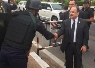 وزير الداخلية يتفقد إجراءات التأمين في مطار أسوان قبل افتتاح مؤتمر الشباب