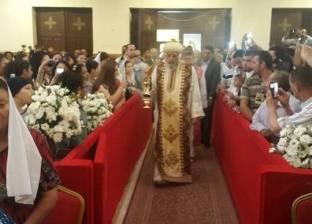 """""""تواضروس"""" يترأس قداس الأحد الأخير من السنة القبطية بالأردن"""