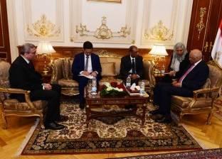 """بالصور  """"عبد العال"""" يستقبل سفير الهند بالقاهرة"""