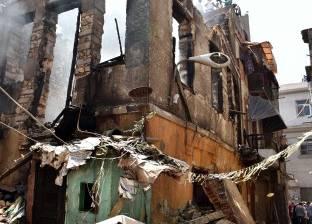 """إصابة مواطن بحروق من الدرجة الثانية في حريق بـ""""الطالبية"""""""
