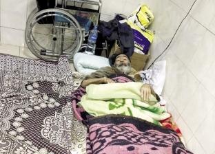 مريض ينام على بلاط مستشفى المنشاوى: عالجونى.. أهلى رمونى