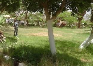 رئيس الحدائق المتخصصة: انتهاء صيانة المسطحات الخضراء استعدادا للعيد