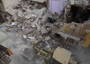 استدعاء أسر المتوفين في حادث انهيار 3 عقارات في روض الفرج