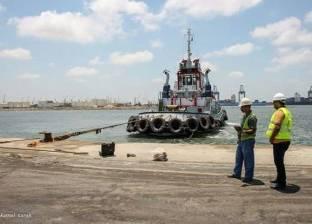رصيد القمح في مخازن القطاع العام بميناء دمياط يصل لـ161488 طنا