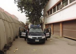 """""""أمن القليوبية"""" توزيع منشورات """"شرطة الشعب"""""""