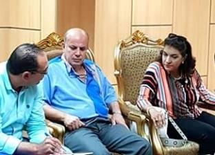 برلمانية تتدخل لحل أزمة انقطاع المياه بالعنانية وعزبة الصعيدي في دمياط
