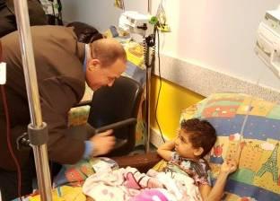 """وفد """"كهرباء جنوب الدلتا"""" يزور مستشفى 57357 لدعم أطفال مرضى السرطان"""