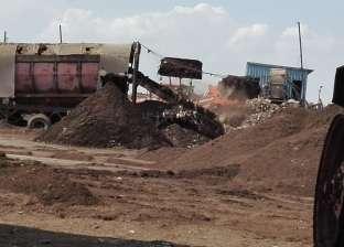 شؤون البيئة ينفذ حملات تفتيش على مقالب القمامة في كفر الشيخ