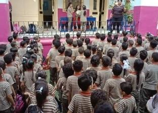 """مدير """"تعليم القاهرة"""" يهنئ الطلاب ببدء العام الدراسي"""