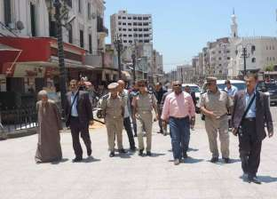 تحرير 372 مخالفة إشغالات و40 قضية تموينية في حملات بشوارع الغربية