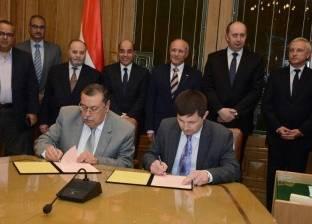 """""""العصار"""" و""""فوفك"""" يشهدان توقيع 3 بروتوكولات تعاون بين الجانبين"""