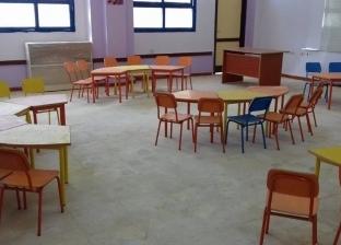 """وكيل """"تعليم جنوب سيناء"""" يتفقد أعمال تجهيز المدرسة اليابانية بـ""""الطور"""""""