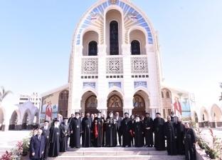 بالصور| البابا تواضروس يستقبل بطريرك السريان ويعلن الصلاة من أجل سوريا