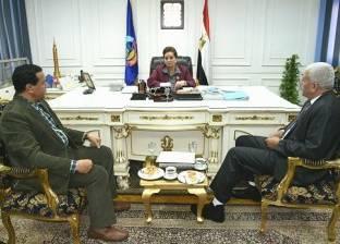 محافظ البحيرة تستقبل نائب وزير الزراعة ونقيب الزراعيين