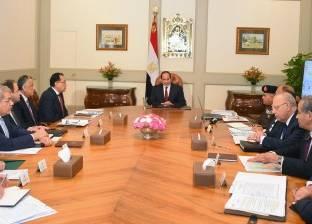 السيسي يوجه الحكومة بتأمين الملاحة النهرية بمجرى النيل