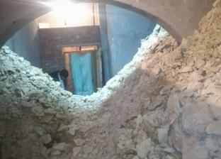 ضبط تشكيل ينقب عن الآثار داخل منزل في دير مواس بالمنيا